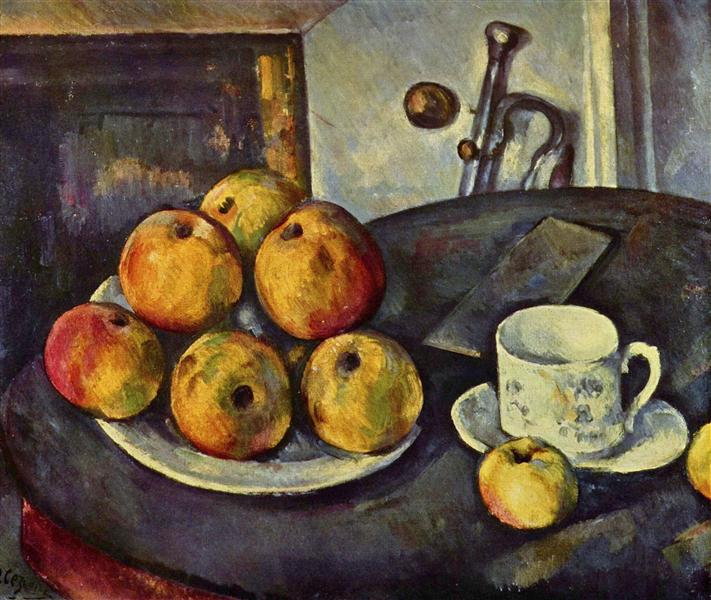 Still Life with Apples, 1894 - Paul Cezanne