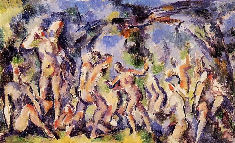 Study of Bathers, c.1902 - Paul Cezanne