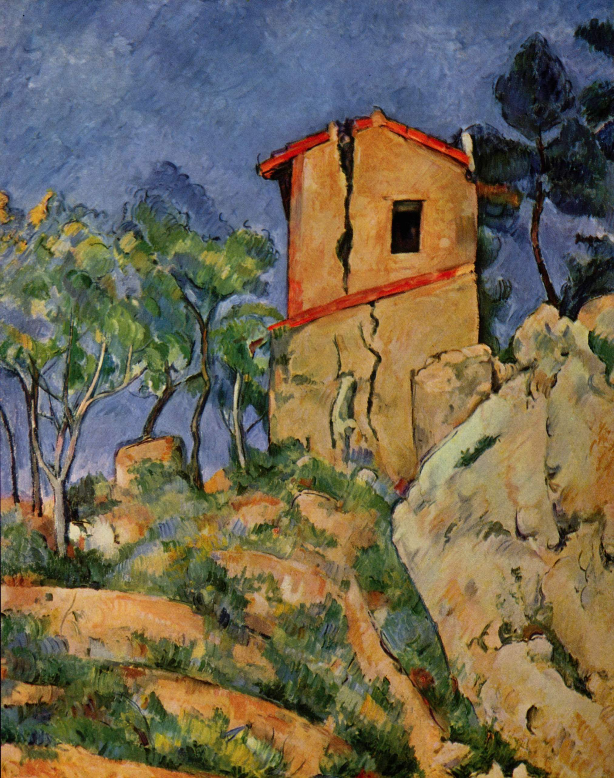 The house with the cracked walls 1892 1894 paul for A la maison meaning