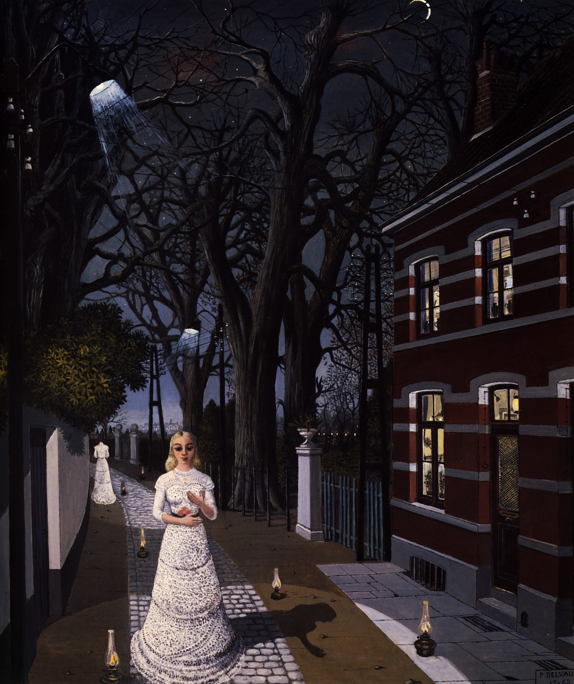 Paul Delvaux Gallery All The Lights Paul Delvaux