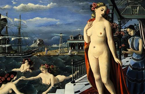 Birth of Venus  - Paul Delvaux