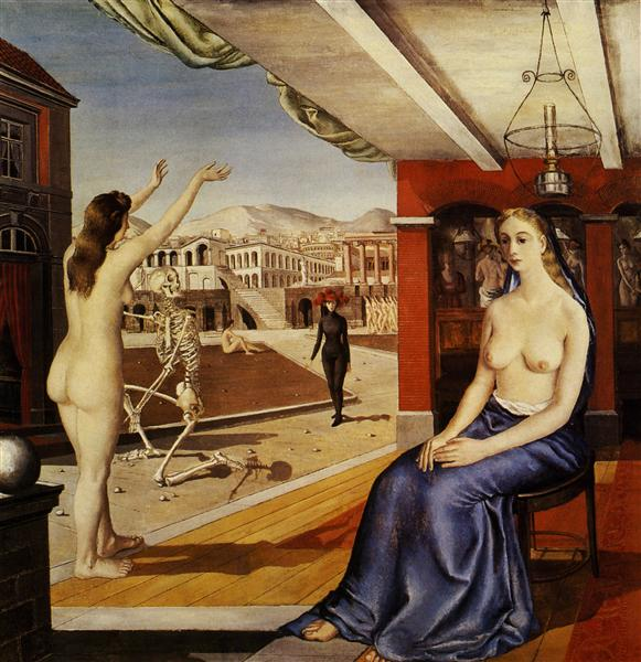 Call, 1944 - Paul Delvaux
