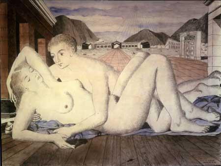 Nudes, 1946 - Paul Delvaux