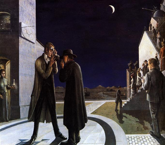 Phases of the Moon III, 1942 - Paul Delvaux