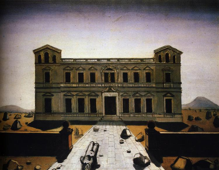 Ruined palace, 1935 - Paul Delvaux