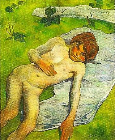 A breton boy, 1889 - Paul Gauguin