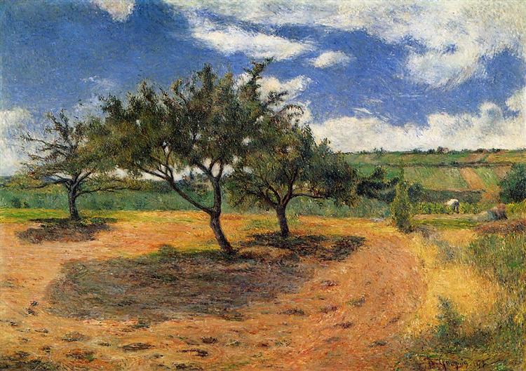 Apple-Trees in Blossom, 1879 - Paul Gauguin