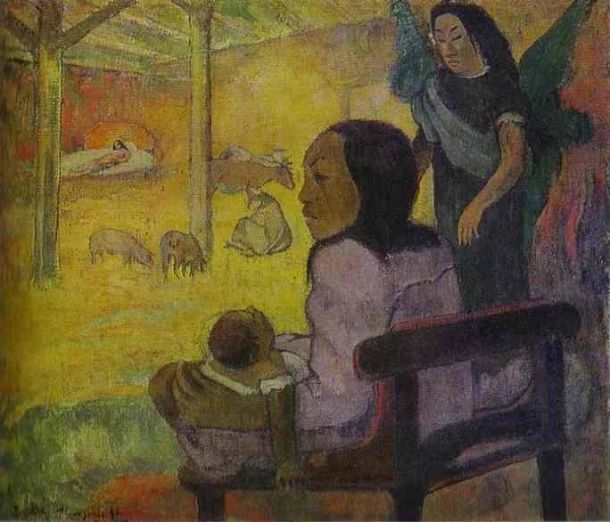Baby (Nativity of Tahitian Christ), 1896 - Paul Gauguin