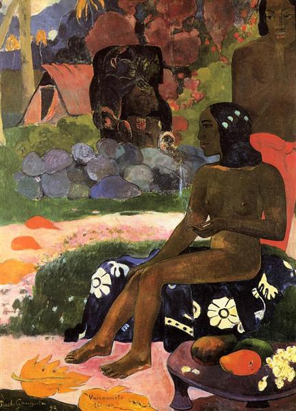Her nami is Vairaumati, 1892 - Paul Gauguin