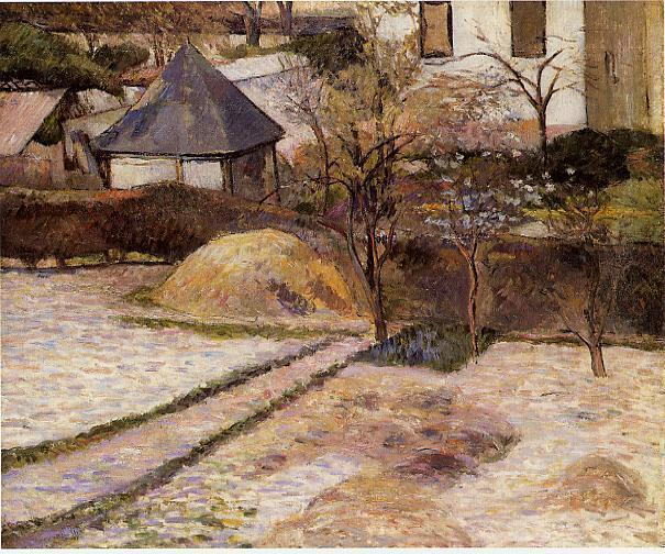 Landscape near Osny, c.1884 - Paul Gauguin