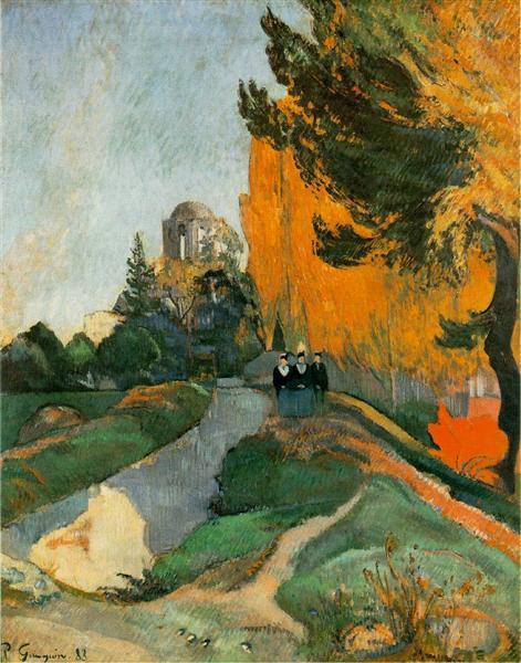 Les Alyscamps, 1888 - Paul Gauguin