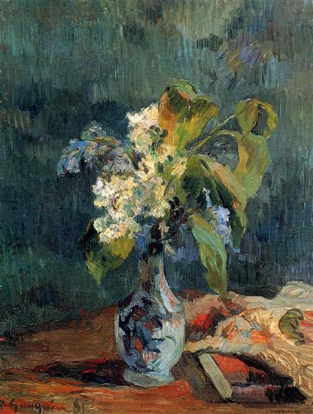 Lilac bouquet, 1885 - Paul Gauguin