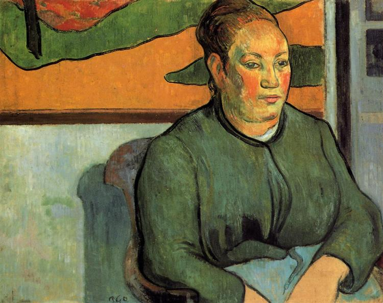 Madame Roulin, 1888 - Paul Gauguin