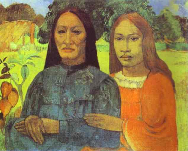 Mother and Daughter, c.1891 - Paul Gauguin