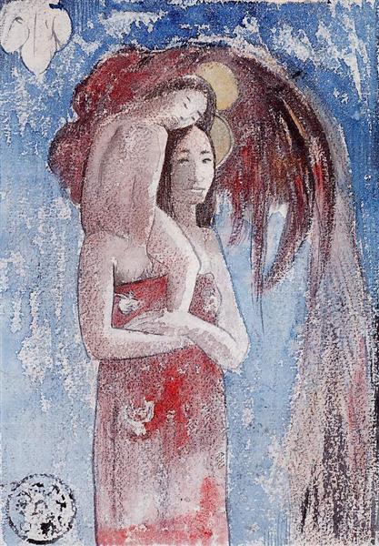 Orana Maria (Hail Maria), 1894 - Paul Gauguin