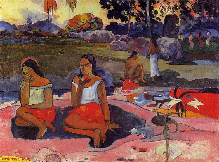 Sacred Spring, 1894 - Paul Gauguin