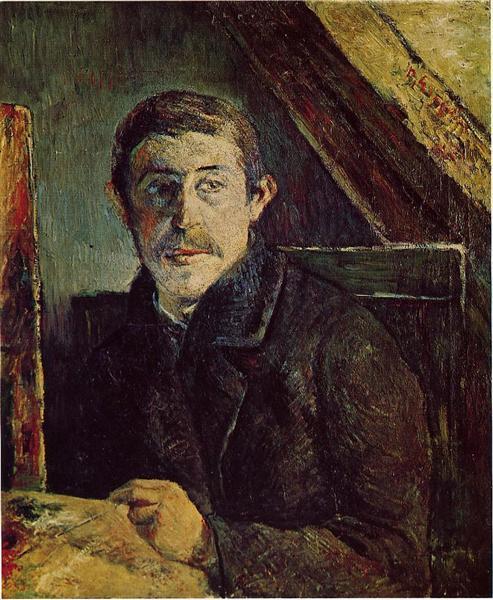 Self Portrait, 1885 - Paul Gauguin