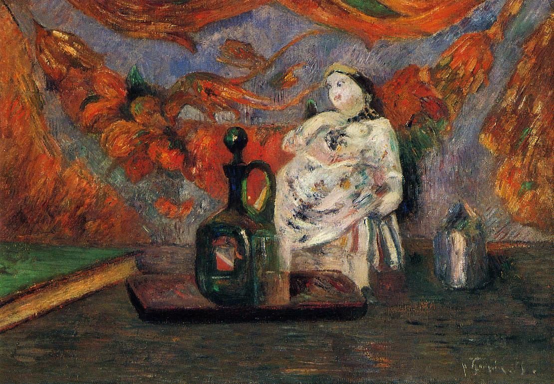 The life and works of paul gauguin