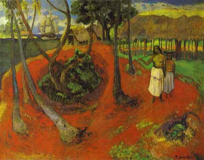 Tahitian idyll, 1901 - Paul Gauguin