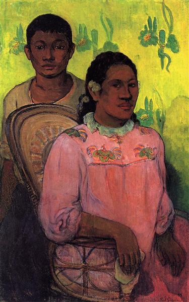 Tahitian woman and boy, 1899 - Paul Gauguin