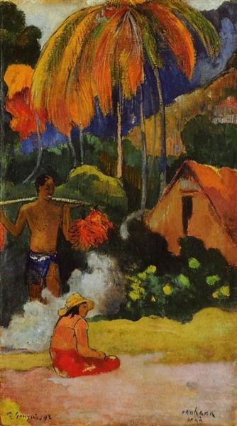 The moment of truth II, 1893 - Paul Gauguin