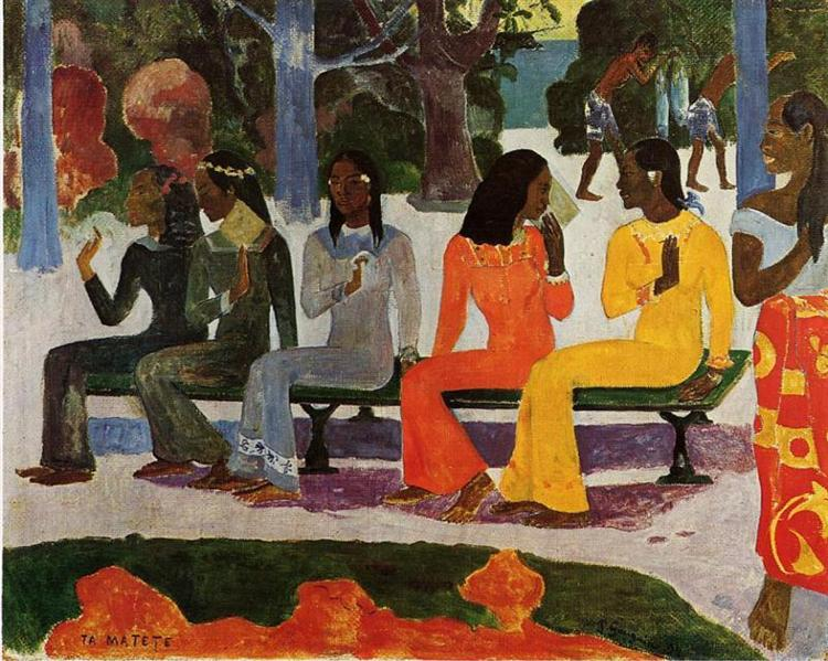 We Shall Not Go to Market Today, 1892 - Paul Gauguin