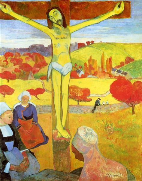 Yellow Christ - Paul Gauguin