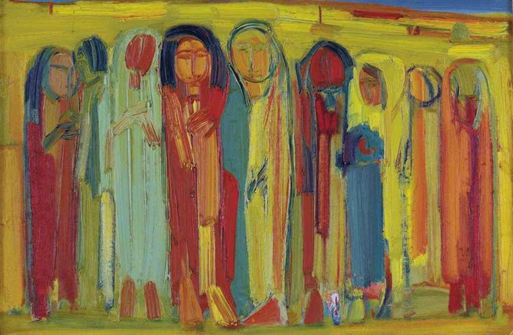 Untitled, 1965 - Paul Guiragossian