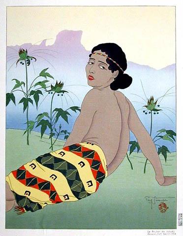 Le Rocher De Jokadj. Ponape, Est Carolines, 1936