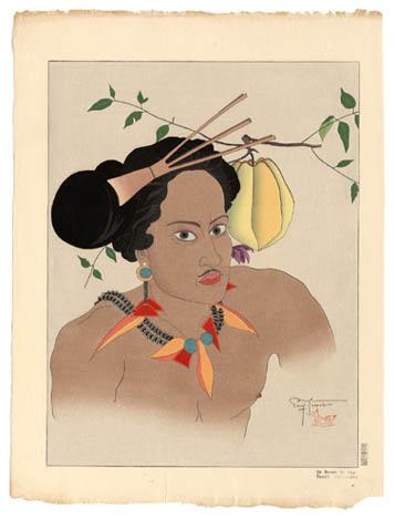 Un Homme De Yap. Ouest Carolines, 1935