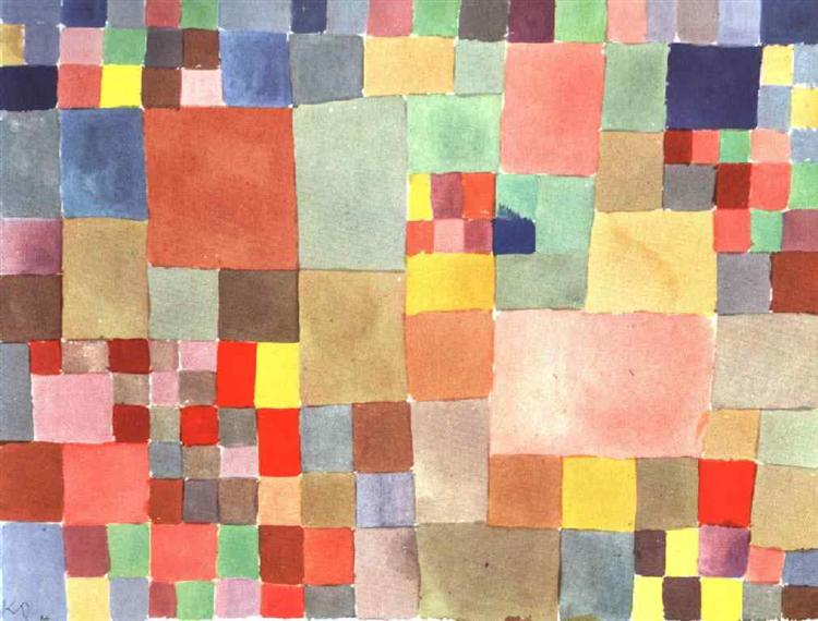 Flora on sand, 1927 - Paul Klee