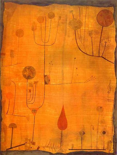 Fruits on Red, 1930 - Paul Klee