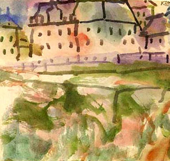 Houses near the Gravel Pit, 1913 - Paul Klee