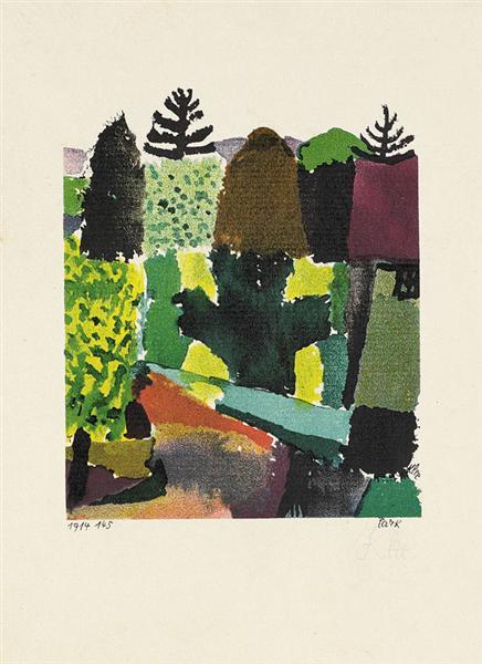 Park, 1920 - Paul Klee