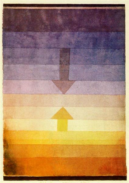 Separation in the Evening, 1922 - Paul Klee