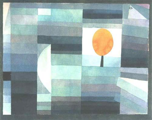 The Messenger of Autumn by Paul Klee