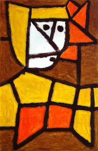 Woman in Peasant Dress, 1940 - Paul Klee
