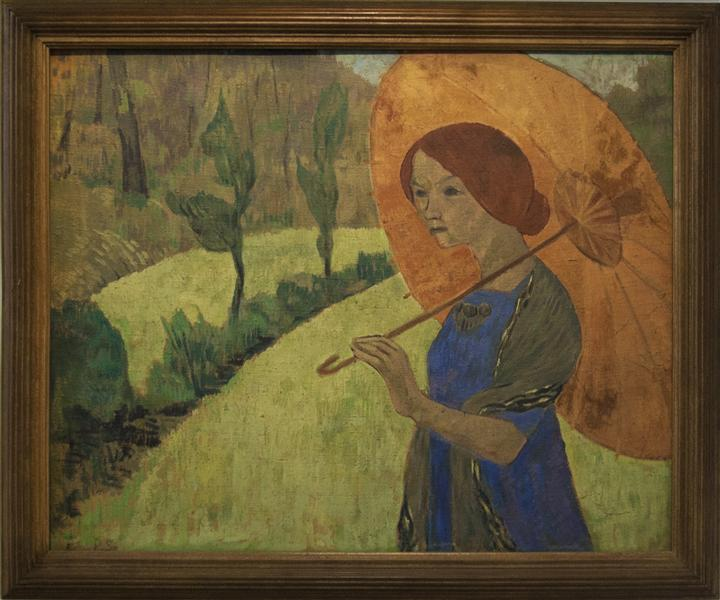 Madame Serusier with a Parasol, 1912 - Paul Serusier