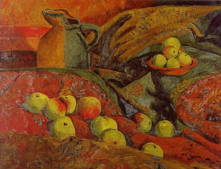 Still life with apples and jug, 1912 - Paul Serusier