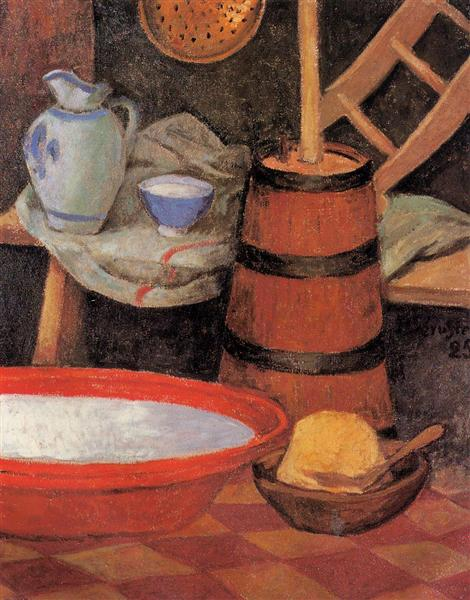Still Life with Churn, 1925 - Paul Serusier
