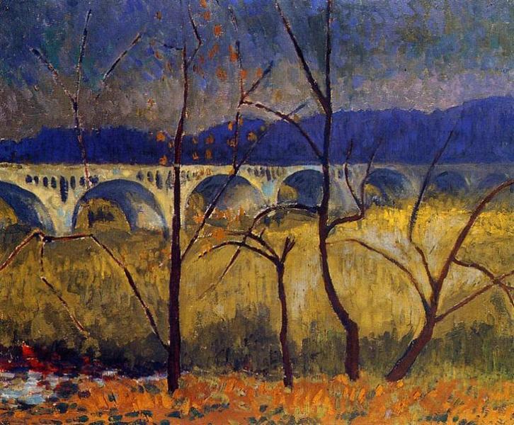 The Aqueduct, 1905 - Paul Serusier