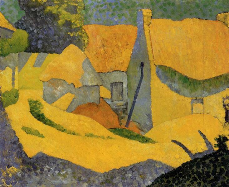 Yellow Farm at Pouldu, 1890 - Paul Serusier