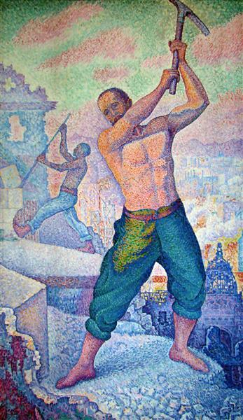The Demolisher, 1896 - 1899 - Paul Signac