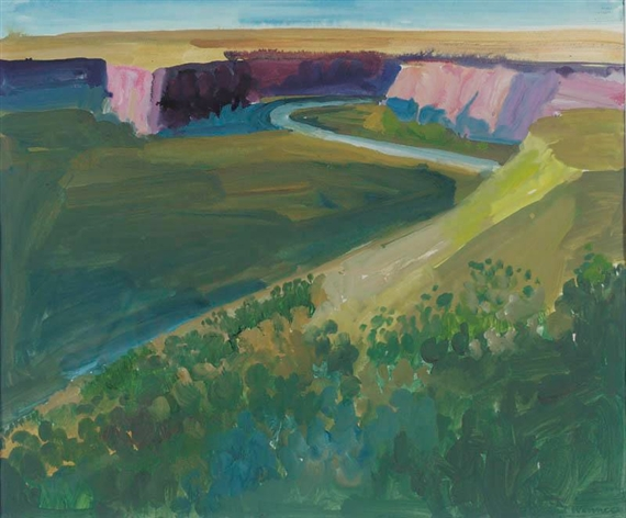 Southwest Canyon, Arizona, 1965 - Paul Wonner