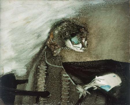 Man Reading, 1959 - Paul Wunderlich