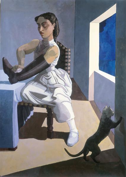 The Policeman's Daughter, 1987 - Paula Rego