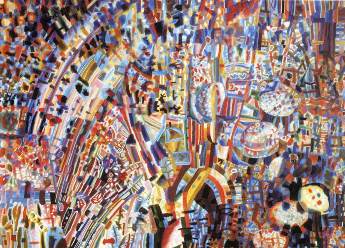 Composition, 1928 - 1929 - Pável Filónov