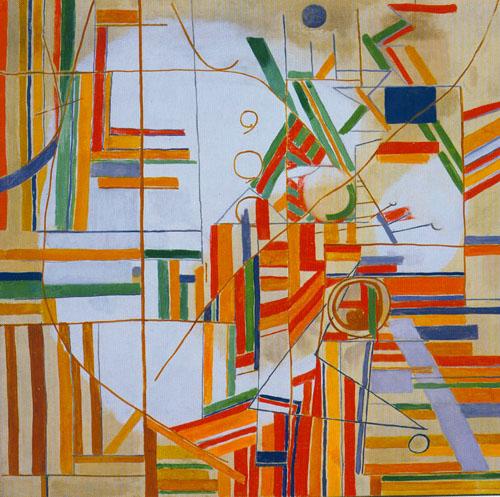 Ideomorphic Composition #1, 1942 - Перл Файн