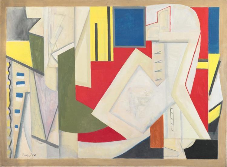 Summer Studio #2, 1948 - Perle Fine
