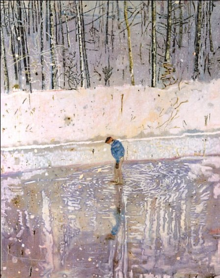 Blotter, 1993 - Peter Doig